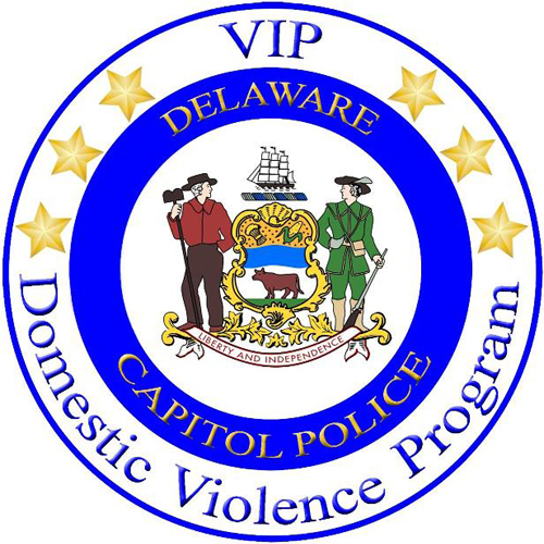 Image of the Capitol Police Domestic Violence Program seal
