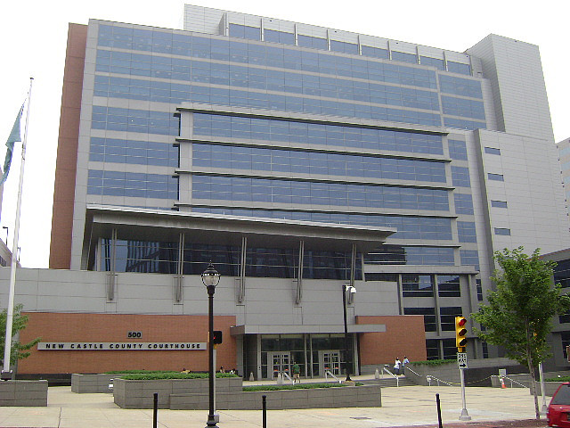 Image of the New Castle County Courthouse