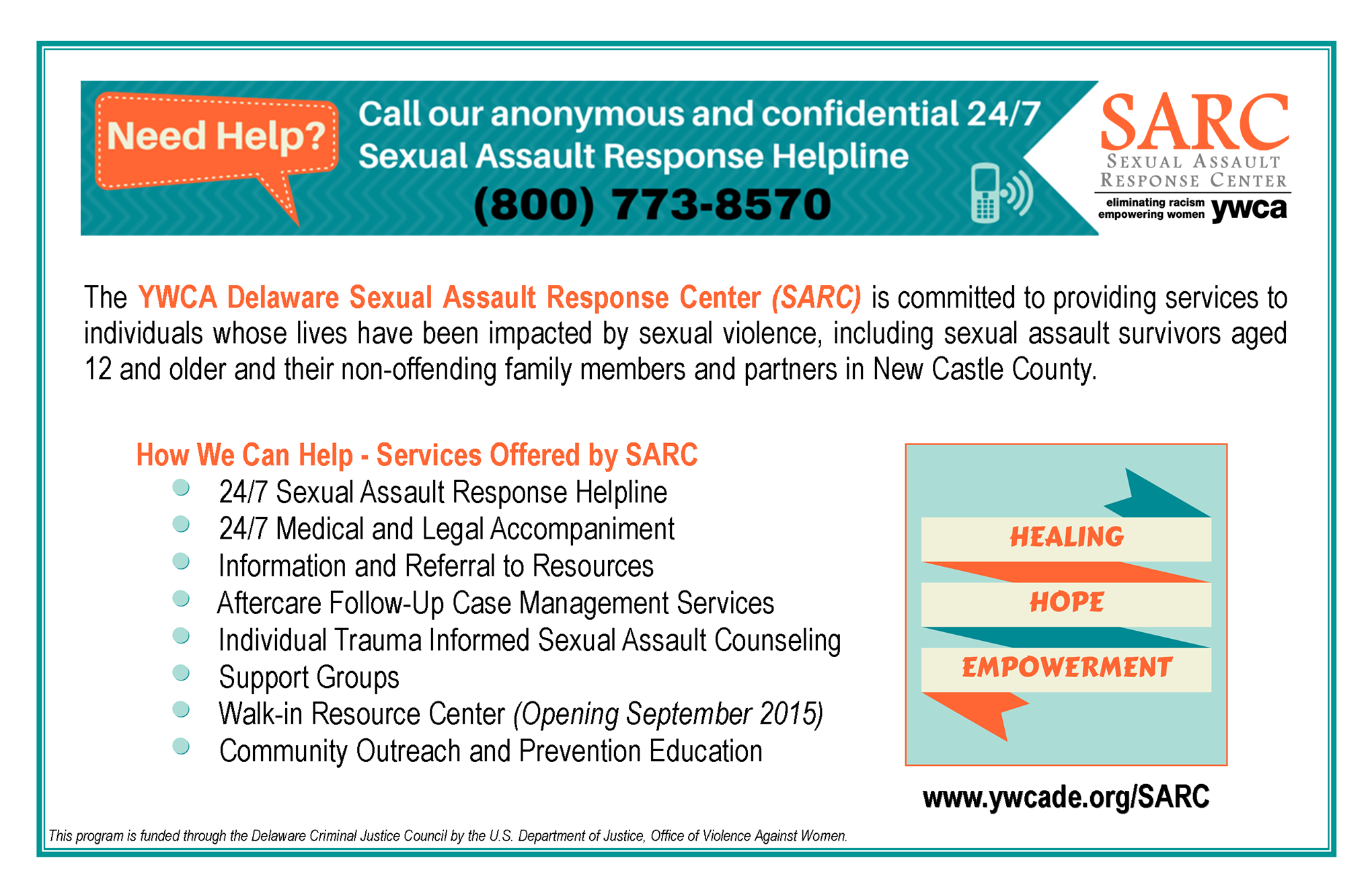 Sexual assault resource services what